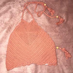 Kendall & Kylie Crochet Top